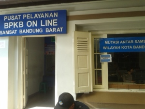 kantor pelayanan bpkb online